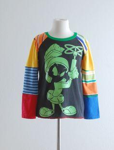 upcycle+tshirt | Upcycled T-shirt Upcycled Clothing Looney Tunes Kids Clothes Boys ...