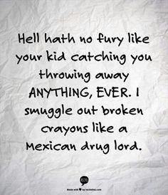 Haha!  I can relate!
