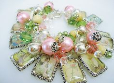 Vintage Garden  Fairy Altered Art Charm by PaytonsTreasures, $34,00, beautiful inspiration