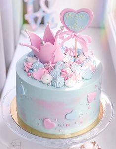 Birthday Cake Decorating Fondant Baby Shower 28 Ideas For 2019 Birthday Cakes Girls Kids, Baby Birthday Cakes, Cake Kids, Birthday Ideas, Buttercream Cupcakes, Cupcake Cakes, Buttercream Ideas, Girl Cupcakes, Car Cakes