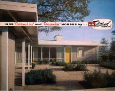 "National Homes - 1955 ""Custom-Line"" and ""Pacemaker"" Houses"