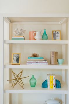 The Best Ever Shelfies - Style Me Pretty Living