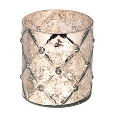 Lattice Mercury Candle Jar