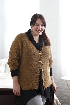Picking A Sweater Pattern When You are a Plus Size - Roving Crafters