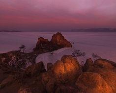 Baikal. Shamanka. March