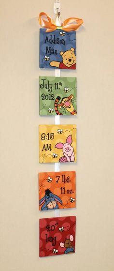 Peeping Pooh Winnie the Pooh Personalized Birth Announcement for baby s nursery Peeping Pooh Winnie the Pooh Personalized Birth Announcement for baby s nursery mar maj n tzlich Similiar to our original design nbsp hellip Pooh Winnie, Winnie The Pooh Nursery, Disney Babys, Baby Disney, Shower Bebe, Baby Shower, Pooh Bebe, Diy Bebe, Nursery Themes