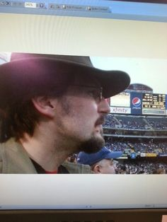 Davy at the Chiefs game in Oakland