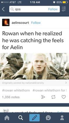HAHAHAH yes! Soooo Rowan. TOGS
