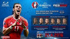 El extremo del Real Madrid, Gareth Bale, será portada del UEFA Euro 2016
