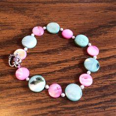 Handmade Beaded Bracelet by wickedhoule on Etsy, $30.00