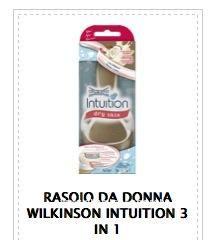Buono sconto Wilkinson Intuiton 3 in 1 - DimmiCosaCerchi.it