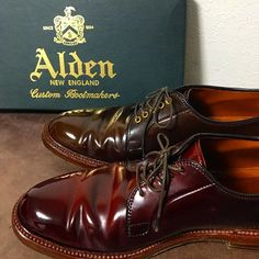 Great brand Alden's. J Shoes, Cheap Shoes, Golf Shoes, Shoe Boots, Oxford Shoes, Shoes Sneakers, Dress Shoes, Cordovan Shoes, Red Wing Boots
