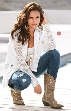Image result for Outfits with Cowgirl Boots