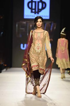 Collections Winter Collection Summer Collection Mid Summer Collection Fashion Fashion Weeks Deepak Perwani's Collection Fashion Week W/F 2015 Women's Ethnic Fashion, India Fashion, Asian Fashion, Fashion Show, Fashion Outfits, Fashion Design, Fashion 2016, Classic Fashion, Fashion Weeks