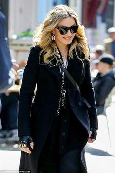 Madonna paid a visit to Rocco's North London school on Tuesday. Madonna Rare, Madonna 80s, Madonna Concert, Divas Pop, Madonna Fashion, Women's Fashion, Madonna Pictures, North London, Gal Gadot
