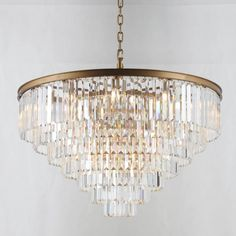 This product listing is for the Width 7 Tier Round Odeon Crystal Chandelier. Star Chandelier, Cool Chandeliers, Wood Bead Chandelier, Rectangular Chandelier, Chandelier For Sale, Lantern Pendant, Chandelier Lighting, Crystal Uses, Clear Crystal