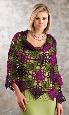 Ravelry: Lacy Spaces Wrap pattern by Tammy Hildebrand