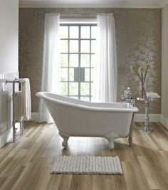 Salisbury slipper bath with traditional resin feet - UK store Loft Bathroom, Upstairs Bathrooms, Grey Bathrooms, Beautiful Bathrooms, Remodel Bathroom, Small Bathtub, Small Bathroom, Bathroom Ideas, Bathroom Plans