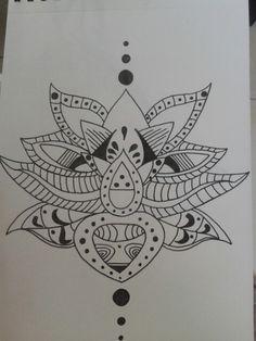 Tatoo fleur