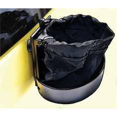 Dog doo happens, even when there's no trash can around. With the Poop-Scoop-N-Boogie Travel Trash Can, you can stow you pooch's poo outside your vehicle for a stink-free drive home.