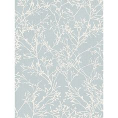 This beautiful Fine Decor Tranquillity Tree Wallpaper in duck egg blue and silver would look great as a feature wall or when used to decorate a whole room. Free UK delivery available Tree Wallpaper Grey, Damask Wallpaper Living Room, Silver Wallpaper, Glitter Wallpaper, Trendy Wallpaper, Blue Wallpapers, New Wallpaper, Wallpaper Roll, Pattern Wallpaper