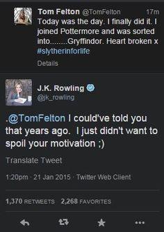 Poor Tom...