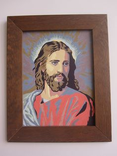 Jesus Paint by Number