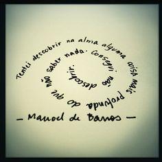 Fabio Issao poesia de Manuel de Barros