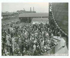 Dominion Monarch    The launch party on the platform,1938.    Built at Swan Hunters & Wigham Richardson Ltd, Wallsend, Newcastle upon Tyne, The Dominion Monarch was a first class passenger-cargo liner and at the time was the largest of her type ever built in the Australasian trade.    Photographed by J.H.Cleet.    TWAS Ref: DS.SWH/4/PH/4/1547/14