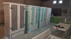 Wood Creations, Pallet Furniture, Wood Pallets, Locker Storage, Creative, Design, Home Decor, Decoration Home, Pallet Wood
