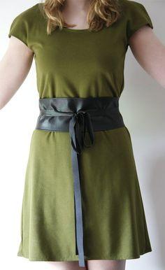 Gürtel Schnittmuster - Free Obi Belt Pattern