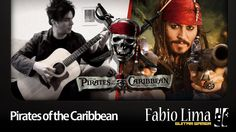 Pirates of the Caribbean on Acoustic Guitar by Fabio Lima