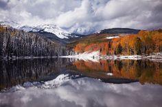 Woods Lake, Colorado by Sarah Marino, via 500px