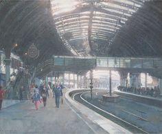 Sunday afternoon York Station  - David Curtis