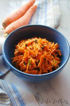 Морковный салат по-французски Carrots, Vegetables, Food, Essen, Carrot, Vegetable Recipes, Meals, Yemek, Veggies