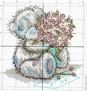 Schematic cross stitch Tatty Buket Pattern