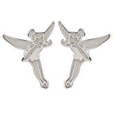 @Overstock - These adorable stud earrings feature Disney's Tinkerbell character rendered in sterling silver. The earrings showcase highly polished and satin finishes and secure with butterfly clasps.http://www.overstock.com/Jewelry-Watches/Disneys-Tinkerbell-Sterling-Silver-Stud-Earrings/6146193/product.html?CID=214117 $22.49