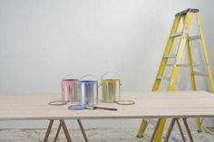 How to Build a Free Standing Ladder Shelf Decor, Oak Kitchen Cabinets, Shelves, Oak Kitchen, Cabinet, Small Japanese Garden, Cabinetry, Wood Cabinets, Ladder Shelf