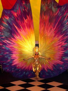 Carnival Arts - Walkabout Carnival Costumes   www.contrabandevents.com