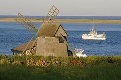 Chatham Windmill & Fishing Boat | Flickr - Photo Sharing!