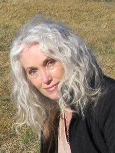 Beautiful Women with Grey White Hair.....