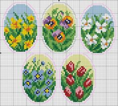 Very adorable Spring time, one-nighter cross stitches.