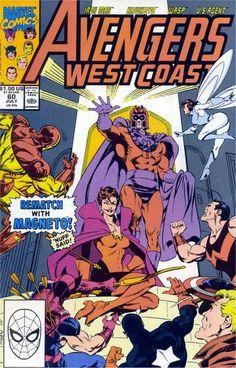 Avengers West Coast # 60 by Paul Ryan