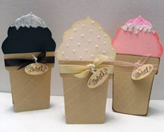 ice cream cone cards by stefo505
