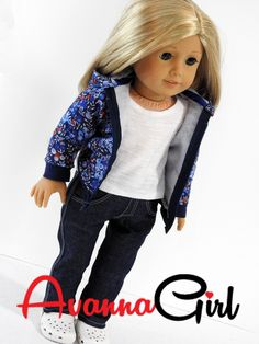 American Girl Doll Hoodie – Avanna Girl