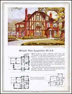 https://flic.kr/p/HPPdrn | Morgan House Plan Suggestions::Building with Assurance | Building with Assurance - 1923 www.antiquehome.org