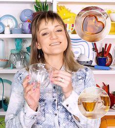 1 Xícara de Chá ou Café de Vidro Duplo Formato Coração 200ml com 4 receitas de bebidas de inverno - Sal de Flor