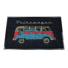 Campervan Gift - Bus http://www.campervangift.co.uk/bus-bug-volkswagen-campervan-doormat/