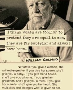 Its all about what you give her to start with. Visit Positively Strong on Facebook.