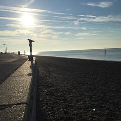 Amazing weather for a morning #run #seafront #sun by kevsimpson